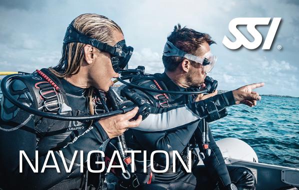 Orientierung unter Wasser